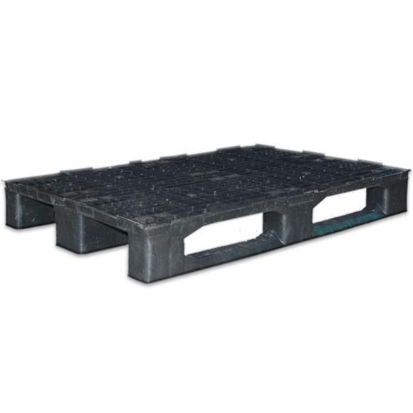 Palet de plástico negro